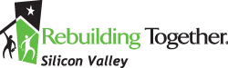 Logo for Rebuilding Together Silicon Valley